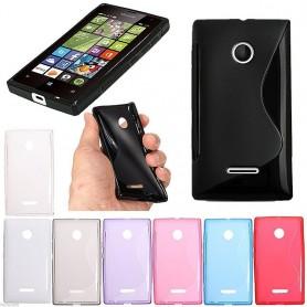 S Line silikon skal Microsoft Lumia 532