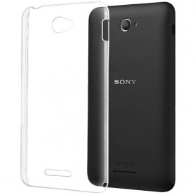 Clear Hard Case Sony Xperia E4