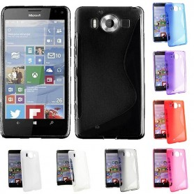 S Line silikon skal MS Lumia 950