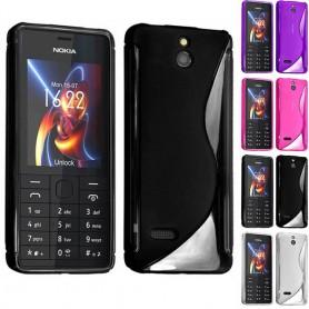 S Line silikon skal Nokia 515