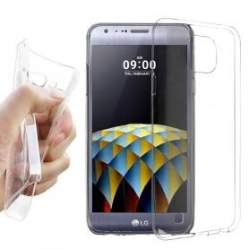 LG X Cam Silikon skal Transparent