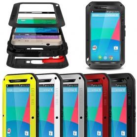 LOVE MEI Powerful Motorola Nexus 6 mobilskal skydd metall