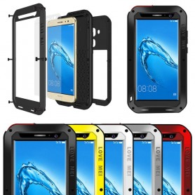 LOVE MEI Powerful Huawei G9 Plus metall mobilskal