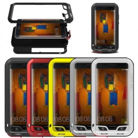 LOVE MEI Powerful Huawei Mate 9 Pro mobilskal metall