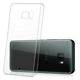 HTC U Ultra silikon skal transparent