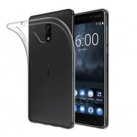 Nokia 5 silikon skal transparent