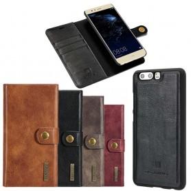Mobilplånbok Magnetisk DG-Ming Huawei P10 Plus