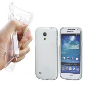 Samsung Galaxy S4 Mini silikon skal transparent