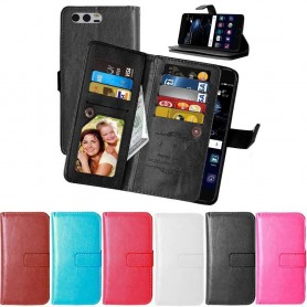 Mobilplånbok Dubbelflip Flexi 9-kort Huawei P10 51091DJW