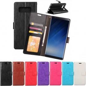 Mobilplånbok 3-kort Samsung Galaxy Note 8 Sm-N950F mobil skal skydd CaseOnline