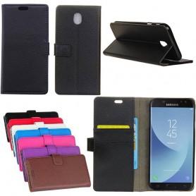 Mobilplånbok 2-kort Samsung Galaxy J7 2017 SM-J730F mobil skal caseonline