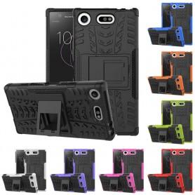 Stöttåligt skal Sony Xperia XZ1 Compact G8441 mobilskal skydd silikon ställ