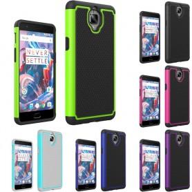 Heavy Duty 2i1 silikon skal OnePlus 3/3T mobilskal skydd caseonline