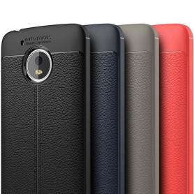 Läder mönstrat TPU skal Motorola Moto G5 mobilskal caseonline