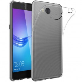 Huawei Y6 2017 MYA-L41 Silikon skal Transparent mobilskal