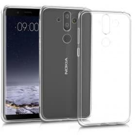 Nokia 8 Sirocco Silikon skal Transparent mobilskal
