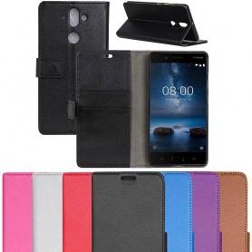 Mobilplånbok 2-kort Nokia 8 Sirocco mobilskal caseonline