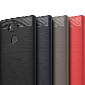 Borstat silikon TPU skal Sony Xperia L2 mobilskal H4311