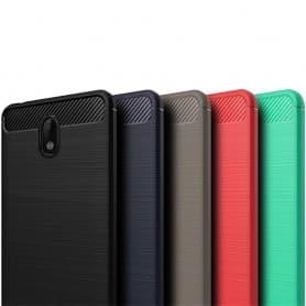 Borstat silikon TPU skal Nokia 2 mobilskal silikonskal skydd