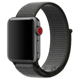 Apple Watch 38mm Nylon Armband Dark Olive klockarmband