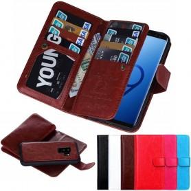 Mobilplånbok Dubbelflip Magnet 2i1 Samsung Galaxy S9 Plus mobilskal