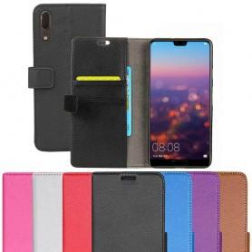 Mobilplånbok 2-kort Huawei P20 mobilskal fodral väska