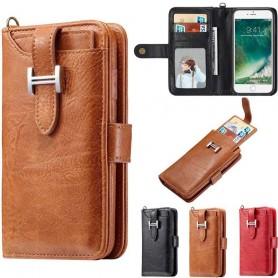 Multiplånbok 3i1 9-kort Apple iPhone 6, 6S mobilskal fodral skydd