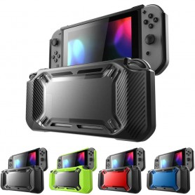 Bumper skal med ställ till Nintendo Switch silikonskal skydd