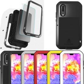 LOVE MEI Powerful Huawei P20 EML-L29 mobilskal skydd stål CaseOnline