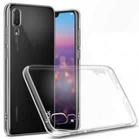 IMAK Clear Hard Case Huawei P20 mobilskal transparent skydd caseonline