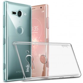IMAK Clear Hard Case Sony Xperia XZ2 Compact mobilskal skydd transparent