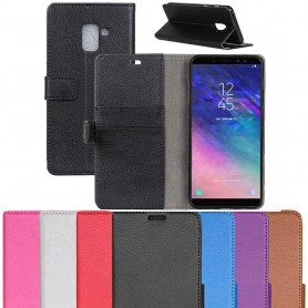 Mobilplånbok 2-kort Samsung Galaxy A6 2018 SM-A600 mobilskal