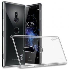 IMAK Clear Hard Case Sony Xperia XZ2 mobilskal hårt transparent