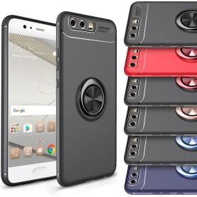 Slim Ring Case Huawei P10 Plus mobilskal selfiering fingerring