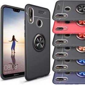 Slim Ring Case Huawei P20 Lite mobilskal selfiering