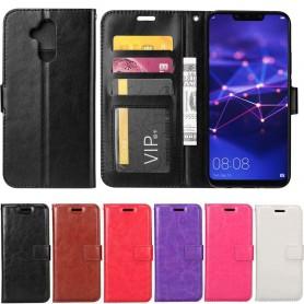 Mobilplånbok 3-kort Huawei Mate 20 Lite fodral mobilskal