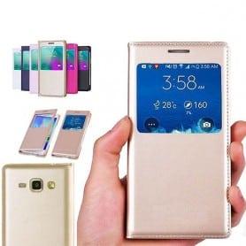 S View FlipCover Samsung Galaxy J1 mobilskal