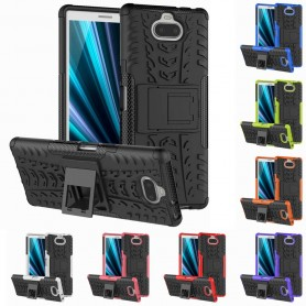 Stöttåligt skal med ställ Sony Xperia 10 (I4113) mobilskal skydd silikonskal caseonline