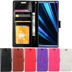 Mobilplånbok 3-kort Sony Xperia 10 (I4113) mobilskal fodral väska caseonline
