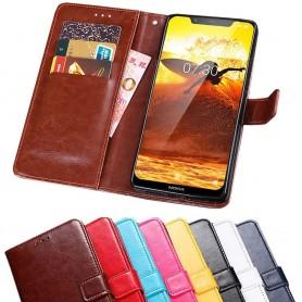 Mobilplånbok 3-kort Nokia 8.1 2018 (TA-1128)