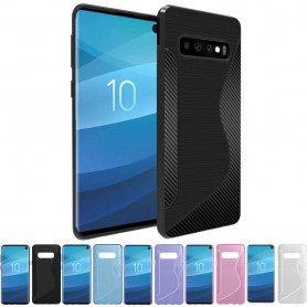 Mobilskal S-Line silikon skal Samsung Galaxy S10 (SM-G973F)