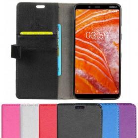 Mobilplånbok 2-kort Nokia 3.1 Plus (TA-1118) mobilskal skydd fodral caseonline