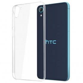 HTC Desire 626 silikon skal transparent
