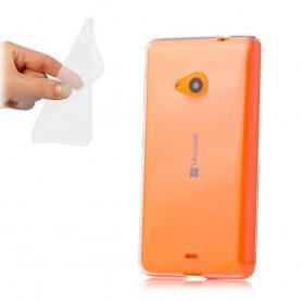 Microsoft Lumia 535 silikon skal transparent