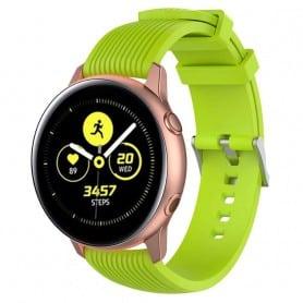 Sport Armband RIB Samsung Galaxy Watch Active - Lime