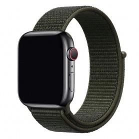 Apple Watch 38mm Nylon Armband Cargo Chaki