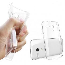 Moto G silikon skal transparent