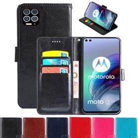 Handyhülle 3-Karten Motorola Moto G100