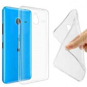 Microsoft Lumia 640XL silikon skal transparent