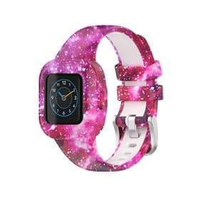 Gemustert Sport Silikon Armband Garmin Vivofit jr. 3 - Nebel
